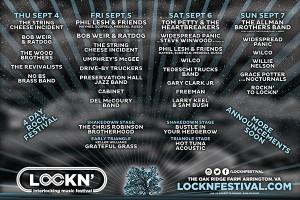 Lockn' Festival lineup 2014