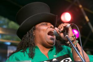 Alexis Suter, Briggs Farm, blues festival