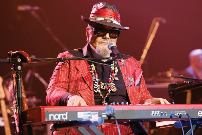 Dr. John at the Saenger Theatre. Photo: Skip Bolen/Getty Images