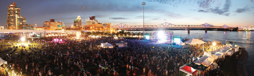 Forecastle. Photo by Birds Eye Foto/Forecastle Festival