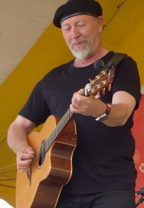 Richard Thompson at the 2014 Clearwater Festival.