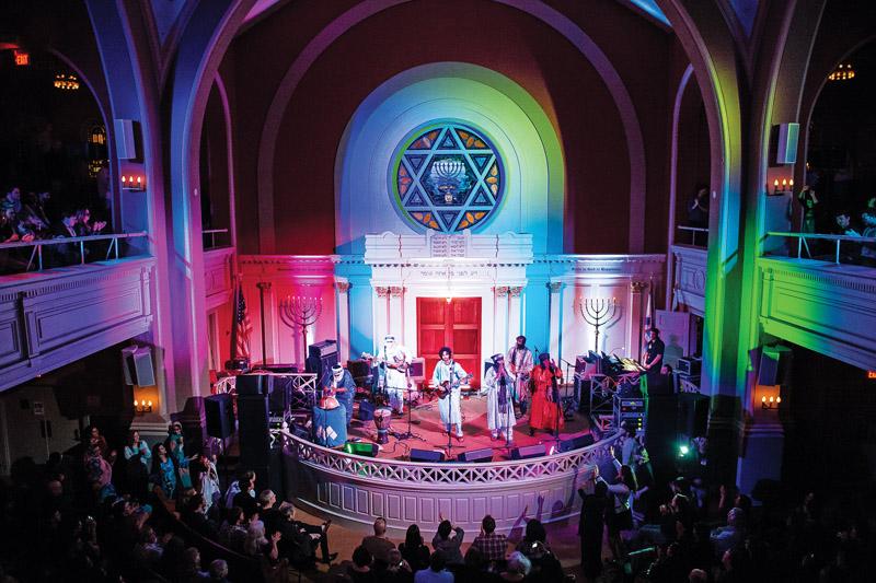 Tinariwen perform at Sixth & I. Photo by asicophoto/Joy Asico