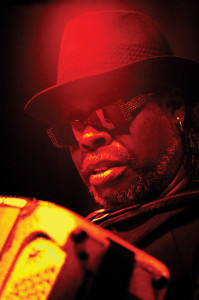C.J. Chenier will perform at Rhythm & Roots. Photo by Laura Carbone