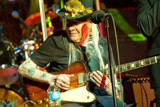 Johnny Winter's 70th Birthday at B.B. Kings Photo Credit: Arnie Goodman