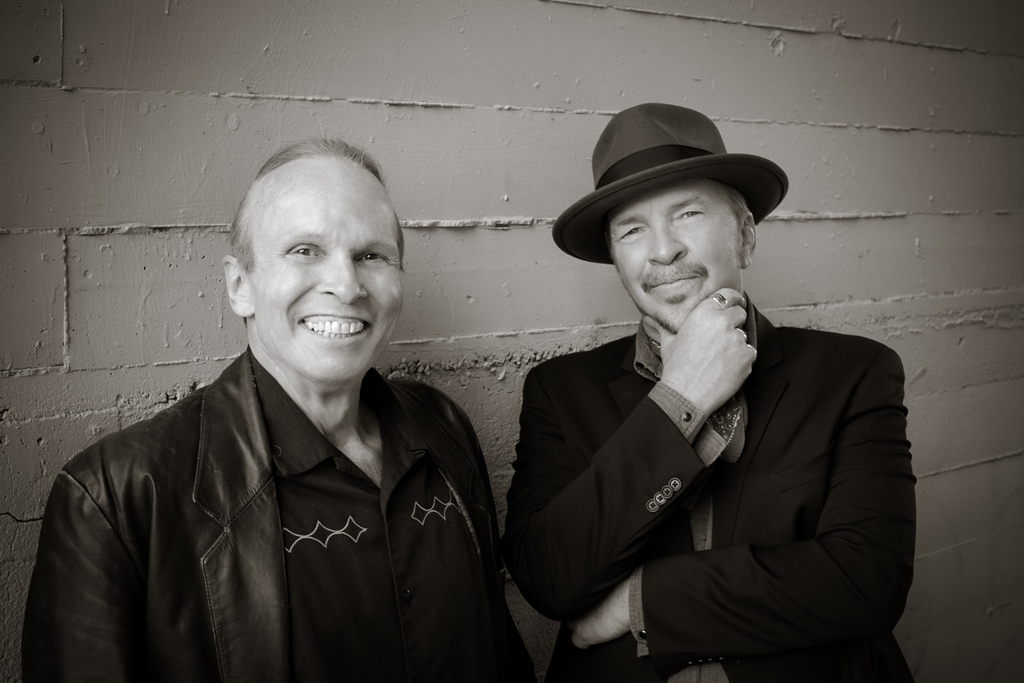 Dave and Phil Alvin by Beth Herzhaft