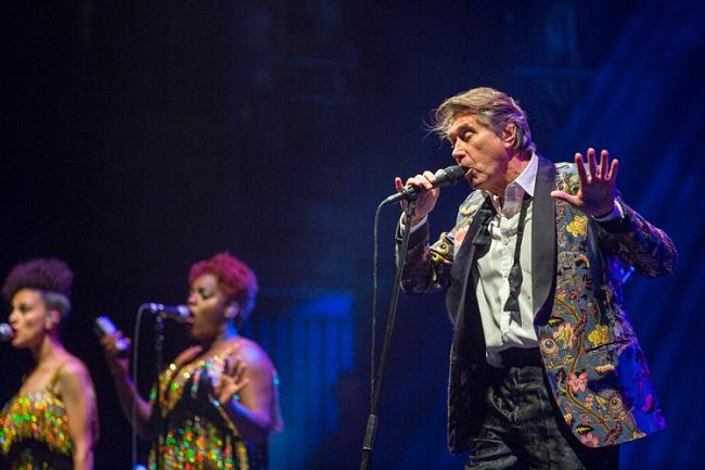 Bryan Ferry, the Rondells, Beacon Theatre, Roxy Music