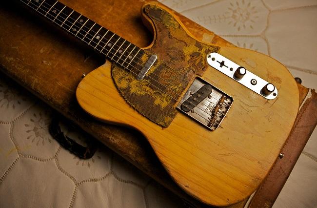 108 Rock Star Guitars, Lisa S. Johnson, Nils Lofgren, Fender, Telecaster, Fender Telecaster