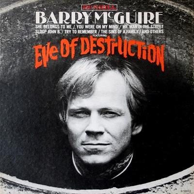 Barry McGuire, Barry McGuire Eve of Destruction, Eve of Destruction, Guy Webster, Guy Webster Big Shots
