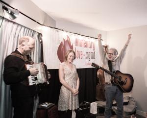 Sam Baker, Carrie Elkin, Folk Alliance, Chip Dolan
