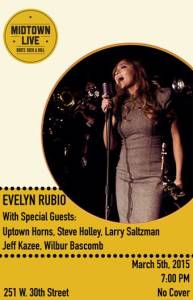 Evelyn Rubio, Midtown Live