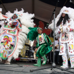 Semolian Warriors Mardi Gras Indians, New Orleans Jazz Fest, Kyra Kverno