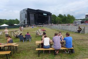 Wide Open Spaces in the VIP Area