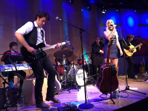 Ashley Monroe with her band