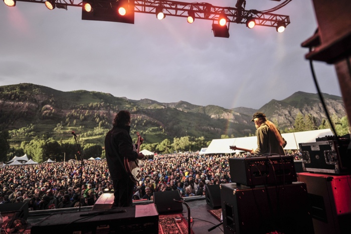 Widespread Panic performing in Colorado, photo by Andy Tennille