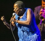Sharon Jones at NJPAC, 2015 by George Kopp