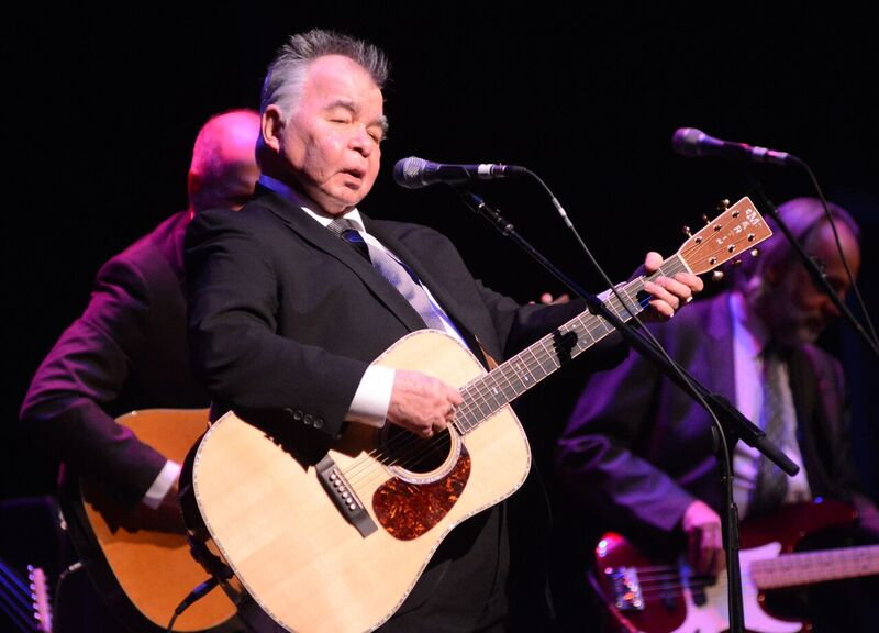 John Prine by Jim Gavenus at the FM Kirby Center