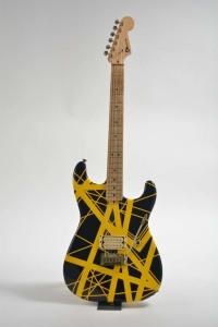 Lot 439: Eddie Van Halen's 1982 Charvel ($55,000-$75,000)