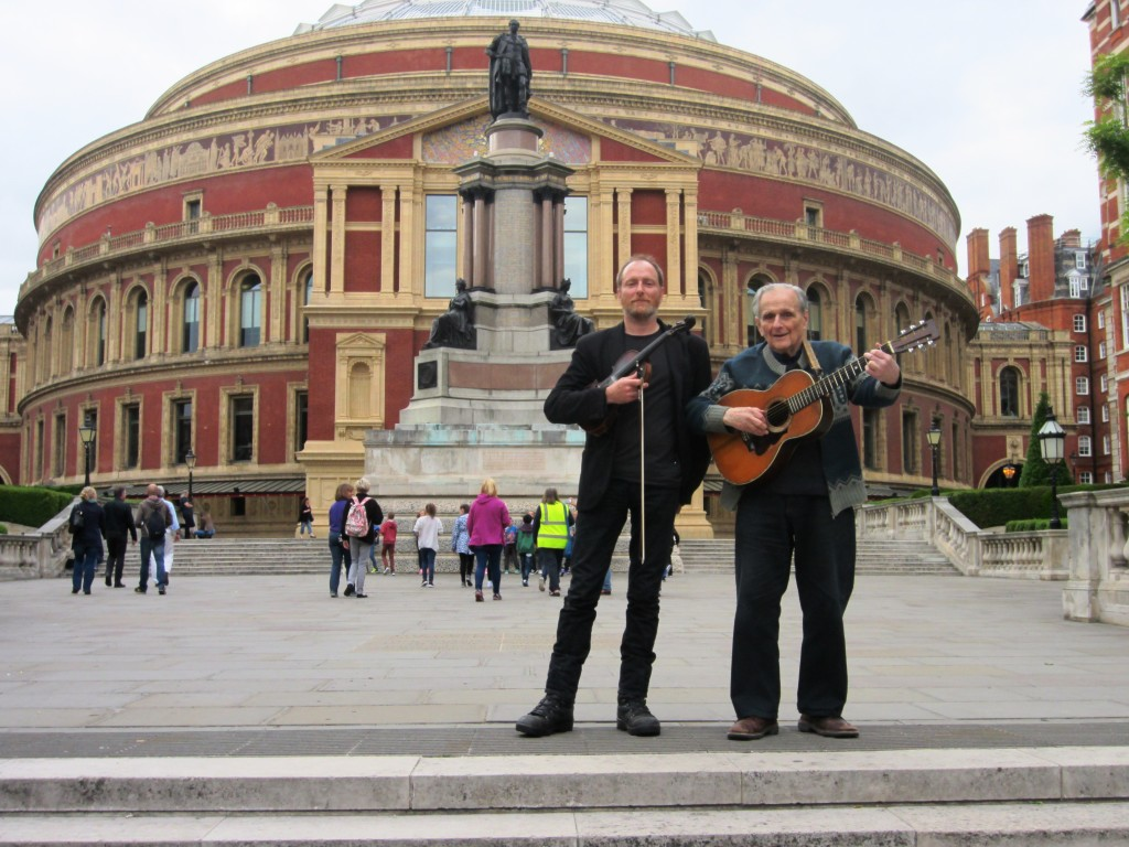 At the Royal Albert Hall for Leadbelly Fest 2015 by Les Ong