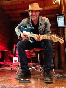 Jonny Rosch, gettin' down with the iRig Blue Turn