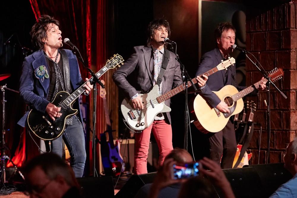 L-R Steve Conte, John Conte and Andy Burton