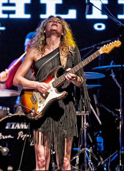 Ana Popovic at the Highline