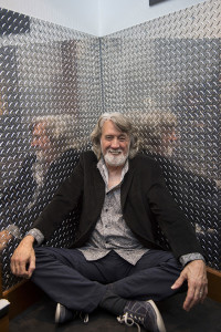 John McEuen photographed at the Gibson Guitar Showroom in New York City on May 17, 2016.
