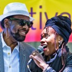William Bell & Catherine Russell at Metrotech, Brooklyn, NY