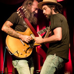 Ross James (L) Jackie Greene (R)