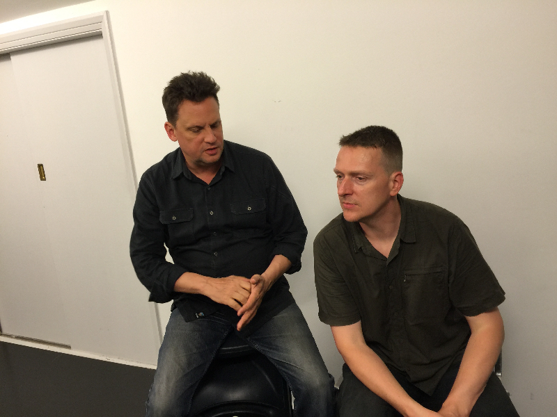 Sun Kil Moon (L) and Jesu (R) by Natalie Curtis