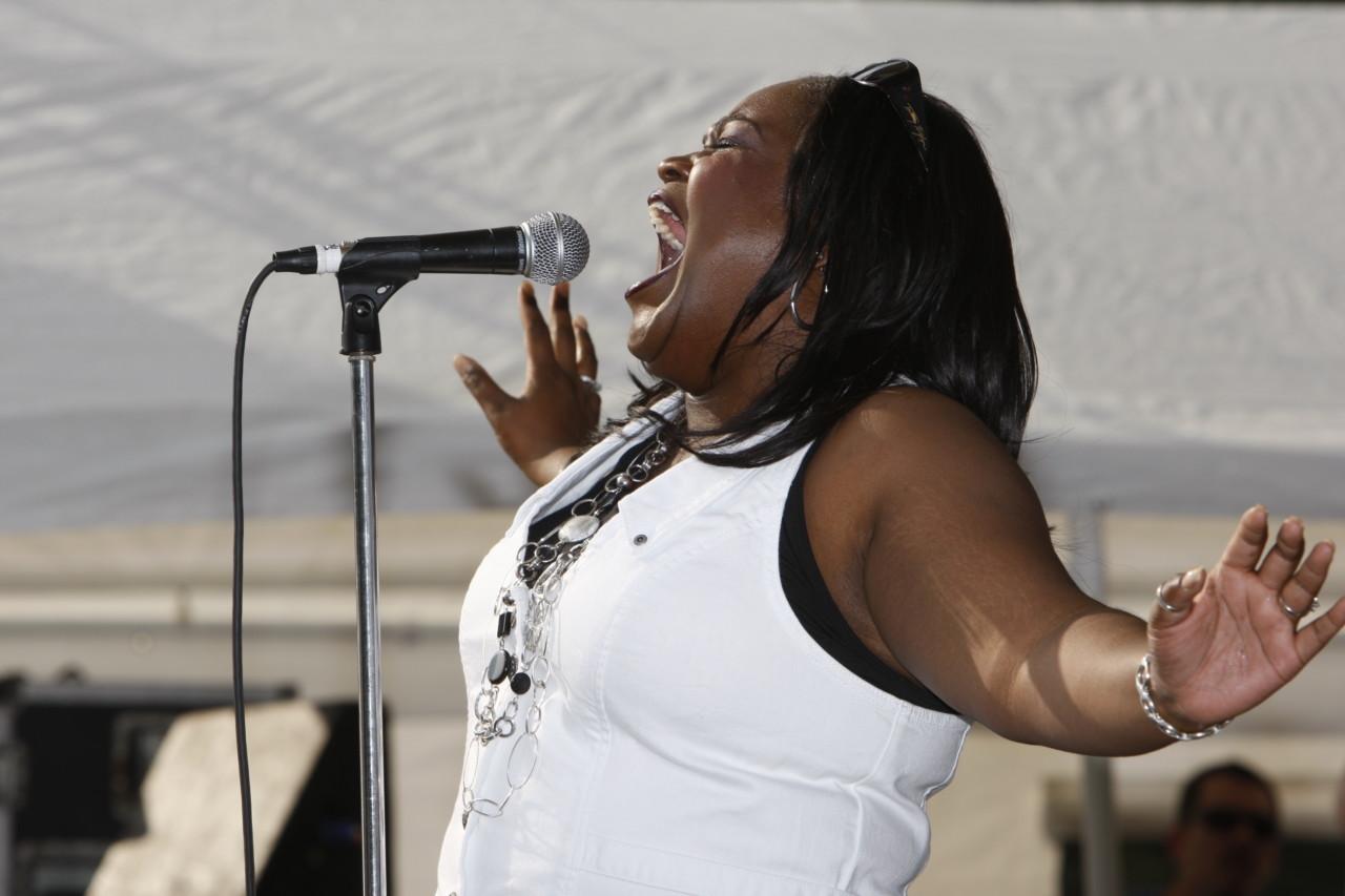 Shemekiah Copeland at the Pocono Blues Festival