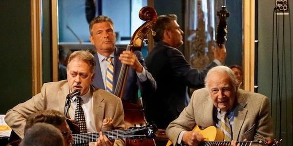 L-R: Ed Laub, Martin and Bucky Pizzarelli