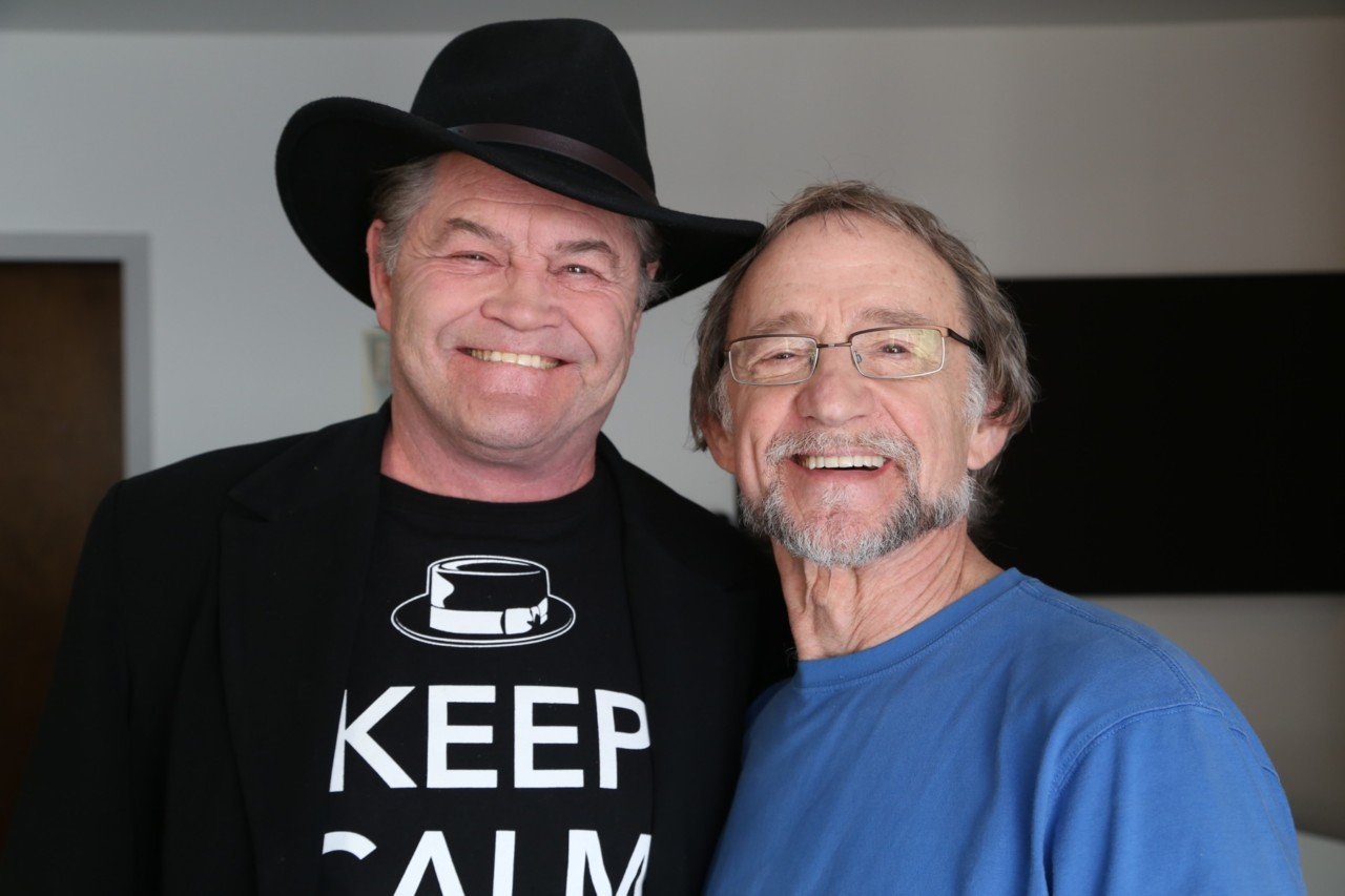 Micky Dolenz and Peter Tork by Henry Diltz