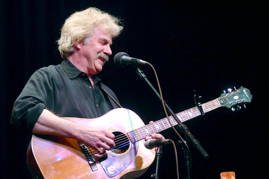 Tom Rush plays Mountain Stage, Charleston WV in 2009. photo by Brian Blauser