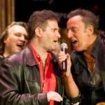 Joe D'Urso, Bob Benjamin (C), Bruce Springsteen