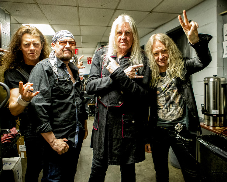 Classic British heavy metal band Saxon to tour U.S. for 35th ...