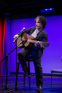 John Oates performs at an event promoting his new memoir called 'Change of Seasons' at Subculture in New York City on March 28, 2017.